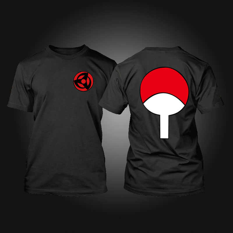 Naruto T-Shirt Maglietta Anime Akatsuki Kakashi Gaara Hokage Uchiha Itachi Sasuke Sharingan Uomini Bambino Tshirt Regalo