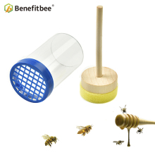BENEFITBEE Brand Queen Bee Cages Big Size Cage Catches Beekeeping Tools Mark Bottle for