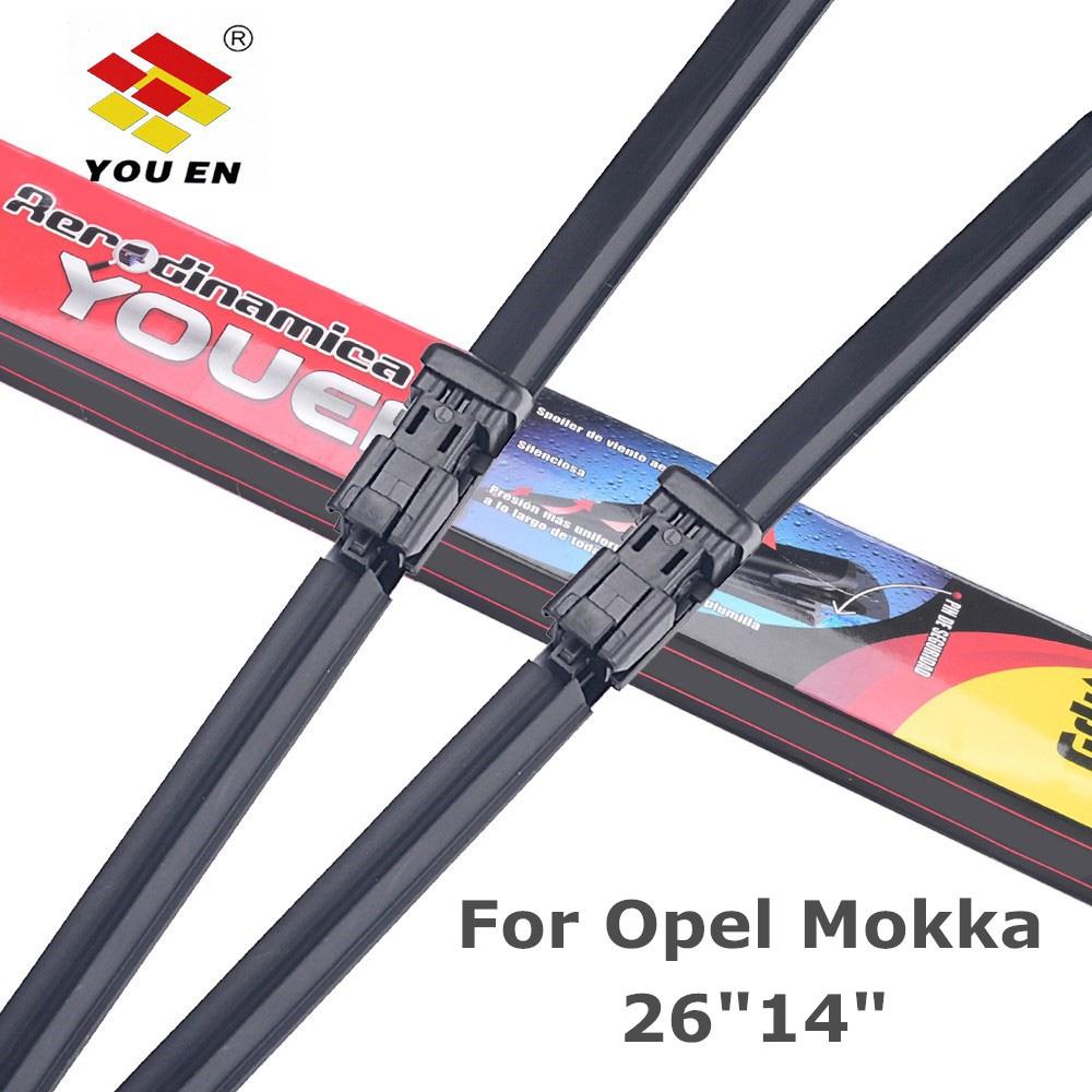 YOUEN Wiper Blades For Opel Mokka 26\