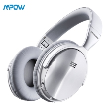 Original Mpow H5 Active Noise Cancelling Headphone Over Ear HiFi Stereo Wireless Bluetooth Headphones With Microphone oneaudio a3 active noise cancelling headphones bluetooth wireless hifi over ear headset stereo anc foldable headphone with mic