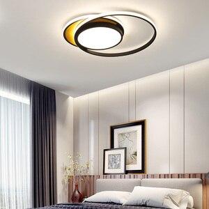 Design da arte moderna led luzes de teto sala estar quarto lâmpada decoração para casa estudo redondo preto branco lâmpada do teto luminárias ceiling lights ceiling lights design designer ceiling light -
