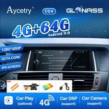 1280*480P ips Android 9,0/7,1 4G 64G авто gps радио для BMW X3 F25 X4 F26 2011- CIC NBT система навигации ГЛОНАСС без DVD