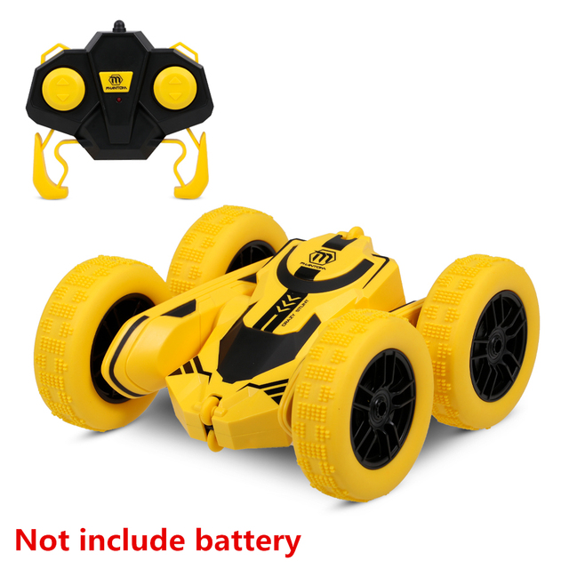 1 28 RC Stunt Car High Speed Tumbling Crawler Vehicle 360 Degree Flips Double Sided Rotating