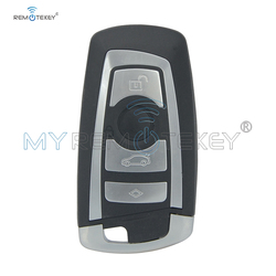 Remtekey YGOHUF5662 nowy zamiennik inteligentny pilot z kluczykiem samochodowym 4 przycisk 434Mhz dla BMW serii F 2009 2010 2011 2012