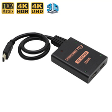 Monitor Do-Portatil-Da Divisor 1x2 Adaptador DVD Interruptor PC Projetor-X-Do Hdmi-Switcher