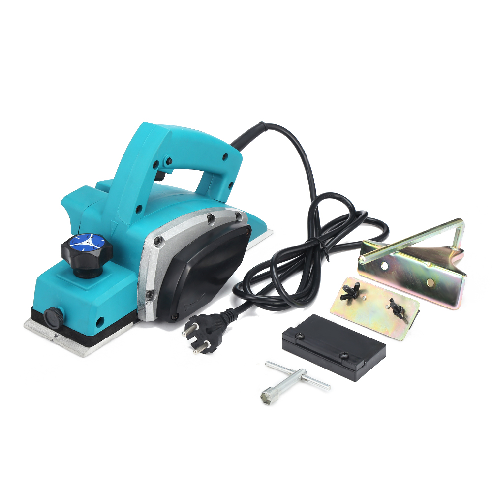 1000W Electric Planer Powerful Wooden Handheld Copper Wire Wood Planer Carpenter Woodworking File Tool Home DIY Power Tools Kit
