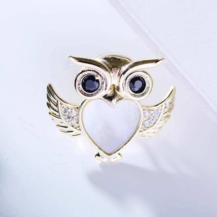 Bad Guy Zircon Brooches For Women Animal Party Causal Brooch Pin Gift Shirt Collar Pins Brooches for Women Accessories Brooch-1