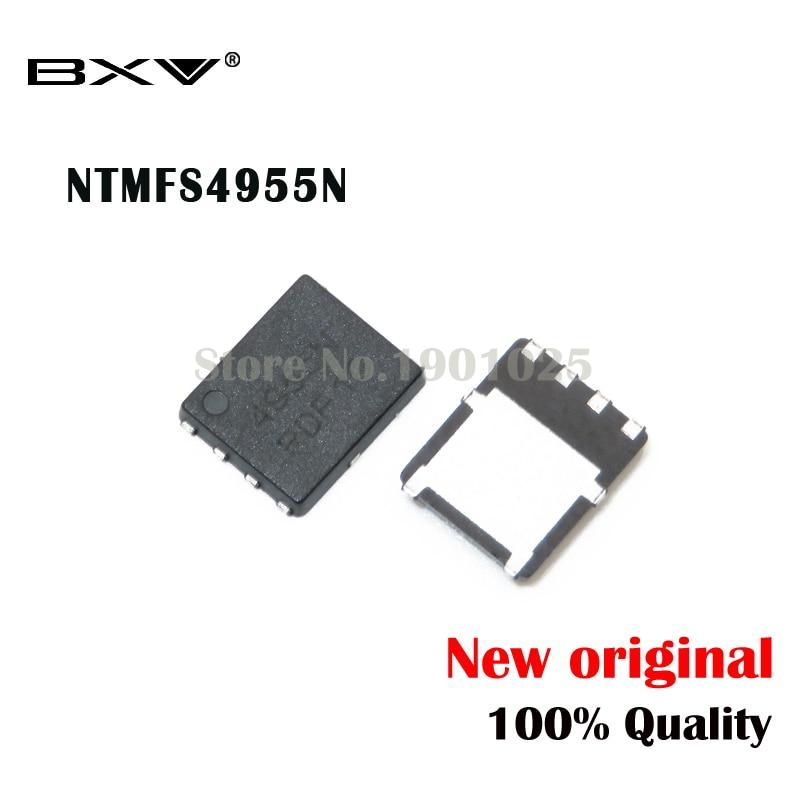 5pcs NTMFS4955NT1G NTMFS4955N 4955N QFN-48 New Original