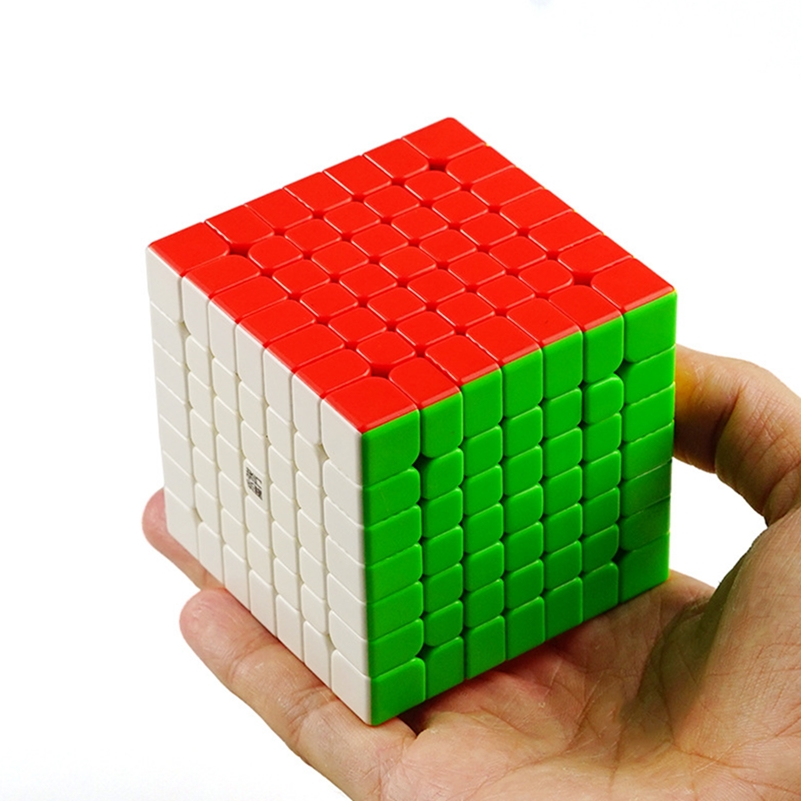 Yj Yufu V2M Cube 7x7x7 Magnetic Puzzle Magic Cube Professional Speed Cube Built-in Magnets Cube Educational Toys For Children