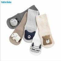 Calcetines para bebé de 0 a 3 años, calcetín para niño Y niña, niño Y niña muñeco para, 1 par