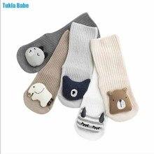 0-3 Y New baby socks cartoon fashion lovely kids boy girl doll socks 1pair