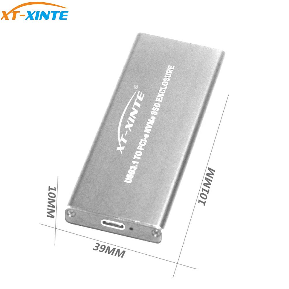 U.2 Male to M.2 NVMe SSD Adapter with 3.5 Inch Housing Caddy