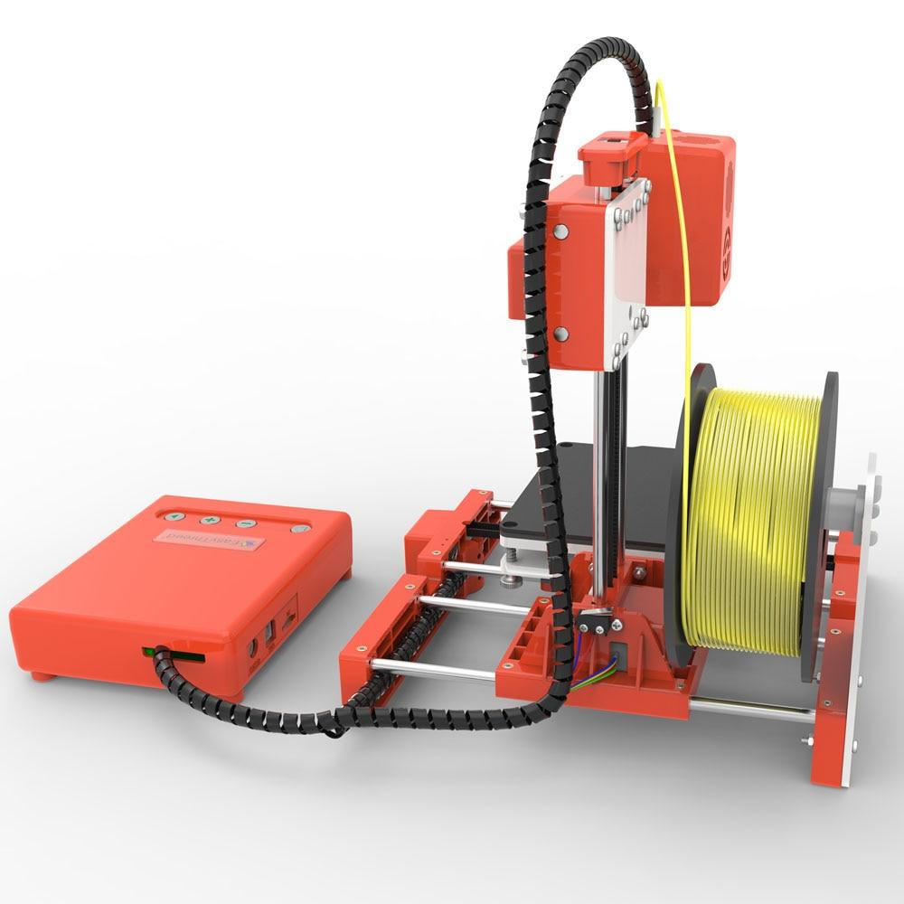 Mini Portable  Kids 3D DIY Printer for Household Education 36