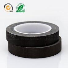 Черная огнестойкая уксусная кислота тканевая лента/высокая термостойкая