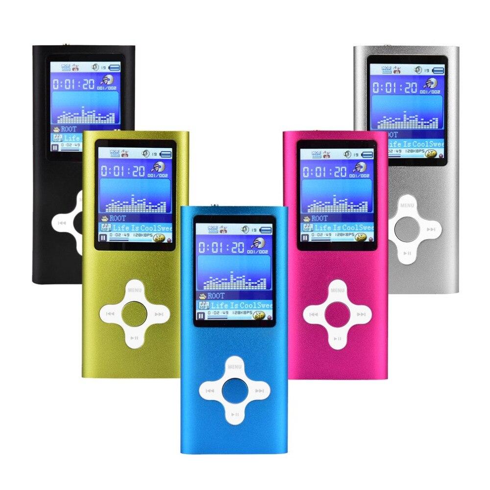 Design à la mode 1.8 pouces écran MP4 lecteur intégré 8 GB/16 GB mémoire vidéo Raido FM lecteur de musique enregistreur vocal