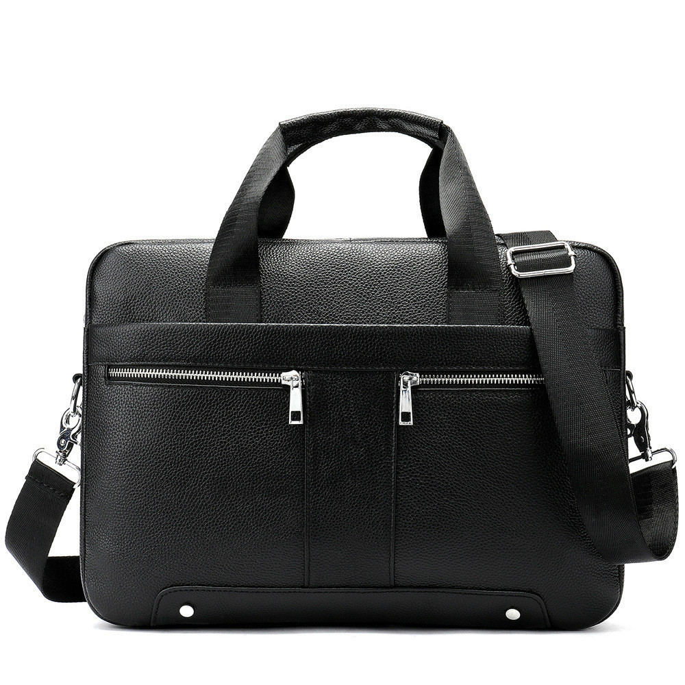 2020 Male Package Genuine Messenger Bag Men Leather Business Affairs Briefcase Head Layer Cowhide Man Single Shoulder Handbag