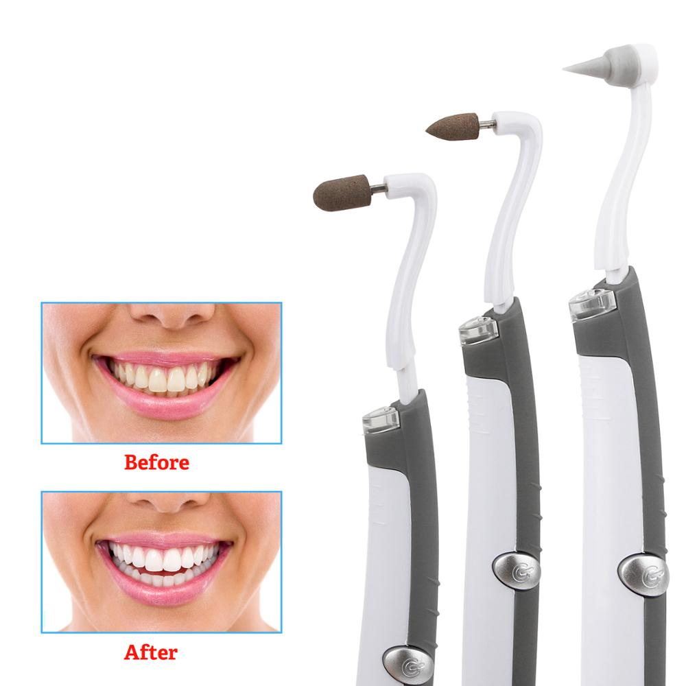 3 In 1 Electric Ultrasonic Sonic Dental Scaler Tooth Calculus Tartar Removal Teeth Stain Cleaner  Whiten Teeth Oral Hygiene Tool