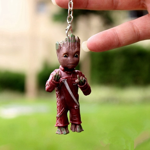 Baby Groot Keychains Guardians of The Galaxy 4