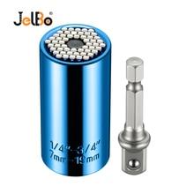 Jelbo Hand Tools Drill Adapter Set Accessories Drill Bits Uiversal Socket Adapter+Power Drill Car Hand Tools Repair Kit