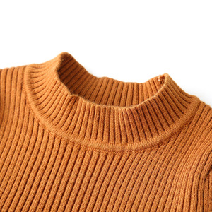 Image 4 - 2020 Autumn Winter Girls Wool Knitted Sweater Baby Girl dress Girls Dresses For Party And Wedding Baby Girl Clothes