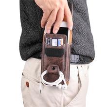 ユニバーサル電話ポーチサムスン注20 10 S20 S10 S9 S8 lite A7 A9 A6 A8プラス2018ウエストパックベルトクリップポケット