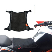 Seat-Cover Fabric-Accessories 3d Mesh Motorcycle Cool Waterproof Cushion Sunscreen Prevent-Bask-Pad