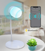 Wireless Charge LED Table Lamp Lamparas De Mesa Modernas Deco Bluetooth Table Lamp Design Desk Light Dimming Reading lamps автоинвертор eplutus pw 12v 600w