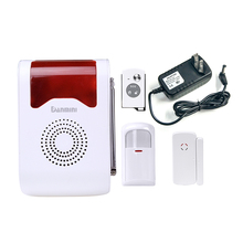 Dector Home-Alarm-System Wireless YA-302 Max-Study Site Voice-Acousto-Optic Alarm-Day/night-Working-Spot