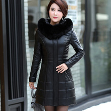 Sheepskin Jacket Thicken Mother