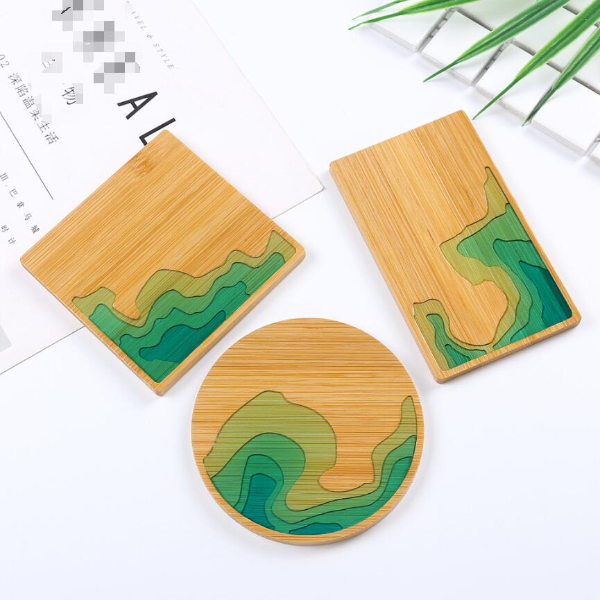 DIY UV Resin Bamboo Jewelry Molds For Making Resin Mat Decoration Handmade Jewelry Accessories Handcraft