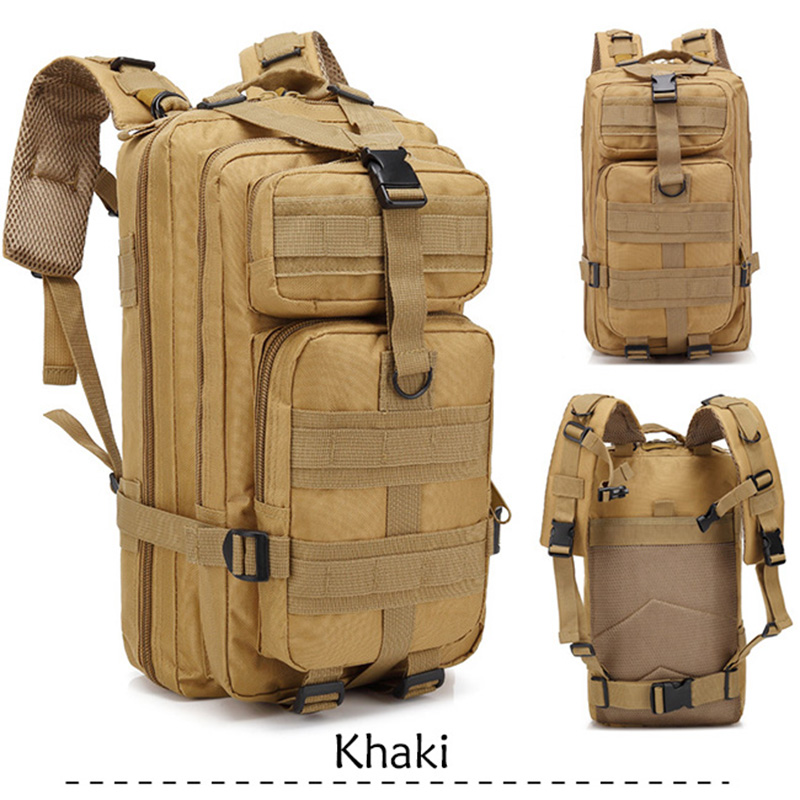 35L Capacity Army Men Tactical Military Backpack Large Waterproof Outdoor Sport Hiking Camping Hunting 3D Backpack Bags For Men