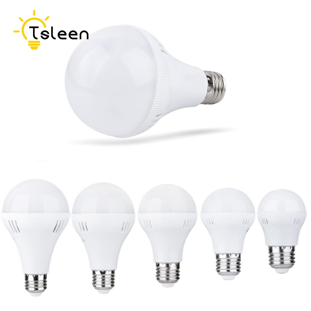 TSLEEN E27 220V светодиодный лампы светильник Лампада светодиодный E27 холодный теплый белый светодиодный светильник Lamparas светильник 3W 5 Вт, 7 Вт, 9