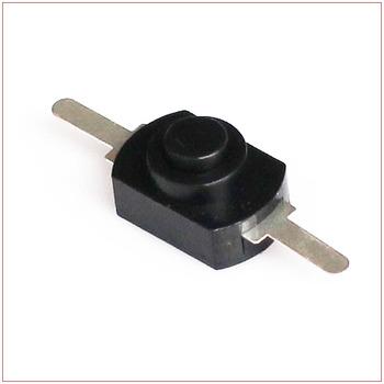 Mały czarny guzik przełącznik latarka wyłącznik zasilania 2 miedziane sterowanie nożne przełącznik kluczykowy samoblokujący tanie i dobre opinie switcher Z tworzywa sztucznego 3 years B6-832 Dotykowy włącznik wyłącznik