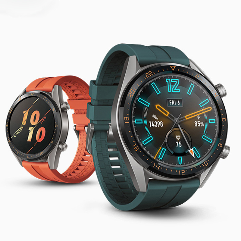 Huawei <font><b>Watch</b></font> GT Strap For <font><b>samsung</b></font> galaxy <font><b>watch</b></font> <font><b>46mm</b></font> active 2 amazfit bip Strap 22mm <font><b>watch</b></font> band <font><b>smart</b></font> watchband <font><b>Bracelet</b></font> S3 image