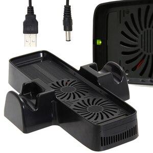 Image 2 - Ventilador de refrigeração com suporte de doca dupla para o controlador de jogo xbox 360