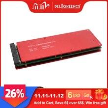 LTO Placa de protección de batería 3S, 5S, 10S, 15S, 20S, 25S, 30S, 32S, 80A, bms con función de equilibrio, batería de titanato de litio 18650