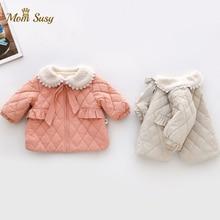 Baby Girl Princess Coat Fleece Winter Newborn Infant Toddler