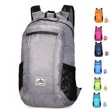 20L léger Portable pliable sac à dos étanche sac à dos pliant sac ultra-léger en plein air Pack pour femmes hommes voyage randonnée