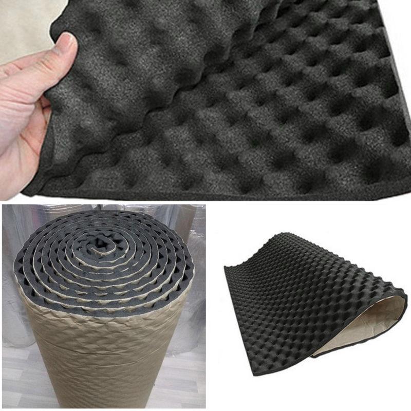 Car Sound Deadener Noise Insulation Acoustic Dampening Foam Subwoofer Mat Sound Thermal Proofing Pad 50*100cm