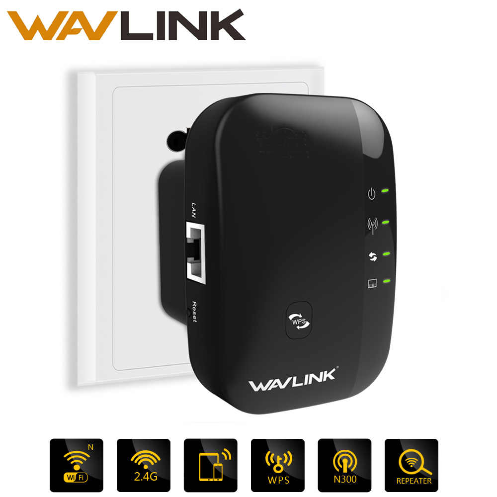 Wavlink N300 Wifi Repeater/Router/Access point AP 300Mbps wifi signal amplifier สัญญาณไร้สาย Booster Extender 802.11n /b/g WPS