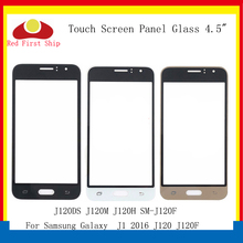 10Pcs/lot Touch Screen For Samsung Galaxy J1 2016 J120 J120DS J120M J120F SM-J120F Touch Panel Front Outer Glass Lens LCD Glass 10pcs lot for samsung galaxy j1 2016 j120 j120f j120ds j120m j120h sm j120f front outer glass lens touch screen panel replacemen