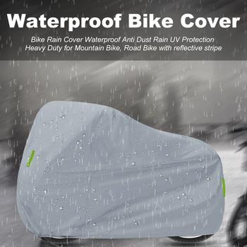 Moto płaszcz przeciwdeszczowy uniwersalne pokrowce motocyklowe wodoodporna ochrona kurz 210D Oxford tkaniny dla Honda Suzuki Kawasaki Yamaha BMW KTM tanie i dobre opinie KKMOON CN (pochodzenie) 225cm 210D Oxford cloth