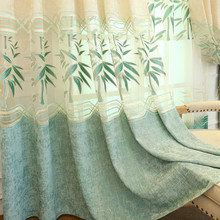 European embroidered villa Curtains Bedroom luxury Polyester cotton Blackout curtains for living room Window Treatment Drapes european style villa luxury embroidered living room decorated bay window curtains high end bedroom floor curtains luxury drapes