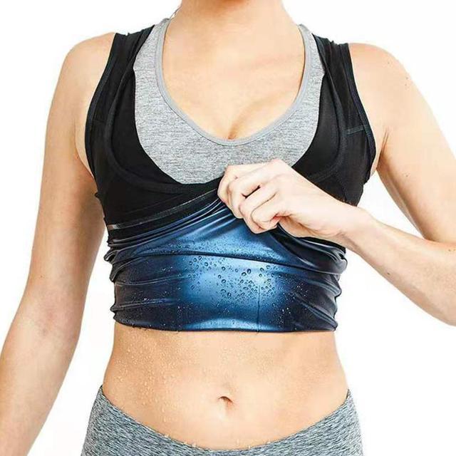 Men Neoprene Sweat Sauna Vest Body Shapers Vest Waist Trainer Slimming Vest Shapewear Waist Shaper Corset for women 4