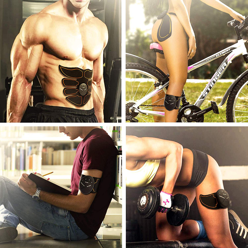 Unisex Wireless EMS Abdominal Muscle Toning Belt Stimulator 14