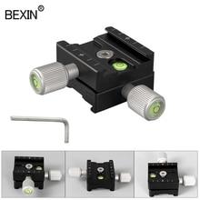 QR50 카메라 클램프 퀵 릴리스 플레이트 어댑터 마운트 일반 클램프 퀵 클립 슬라이드 클램프 릴리스 플레이트 dslr 카메라 삼각대