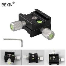 QR50 Зажим для камеры быстросъемная пластина адаптер крепление общий зажим быстросъемный зажим скользящий зажим для съемной пластины штатив для цифровой зеркальной камеры