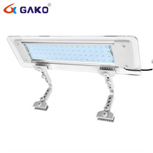 40CM Fish Tank 2 Installation Methods Flexible LED Clip-on Light Aquarium Lamp with Extendable Brackets