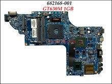 Оригинальный 682168-001 682168-501 для струйного принтера HP Pavilion DV6-7000 Материнская плата ноутбука 55.4XT01.009 11254-3 48.4ST10.031 W/GT630M 1G GPU