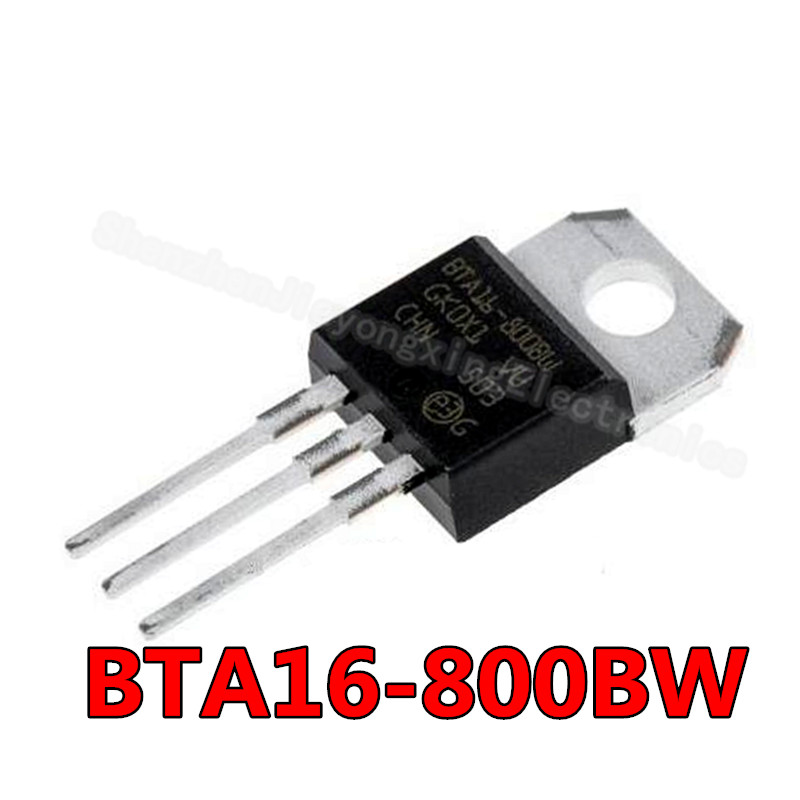 10 шт./лот Новинка BTA12 600B BTA12 800B BTA16 600B BTA16 800B BTA20 600B BTA24 600B BTA24 800B LM317T IRF3205 транзистор BTA16 800BW